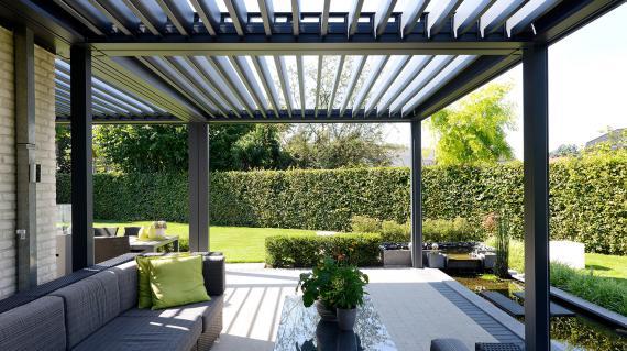 Veranda of terrasoverkapping laten bouwen op maat wat for Kosten veranda